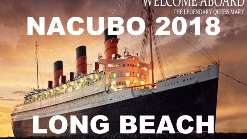 NACUBO 2018 in Long-Beach