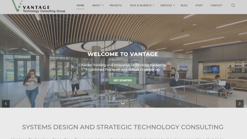 New Vantage Website