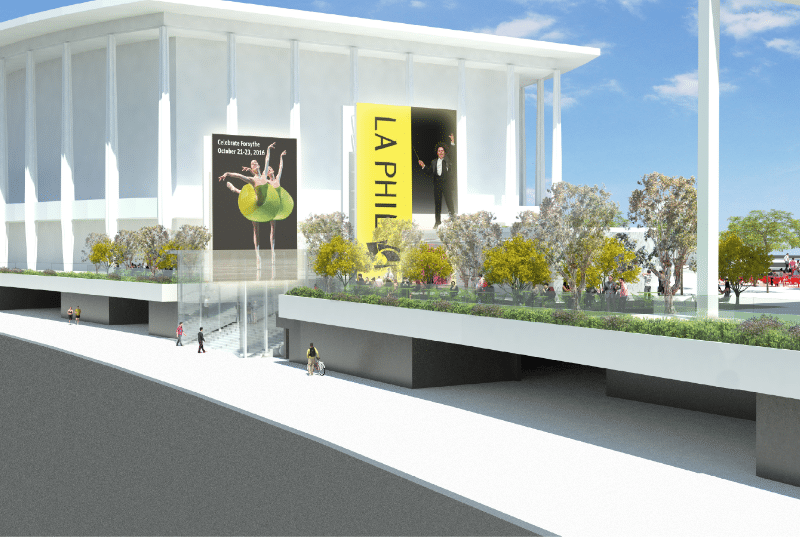 The Music Center Rendering from Rios Clementi Hale Studios - Street View